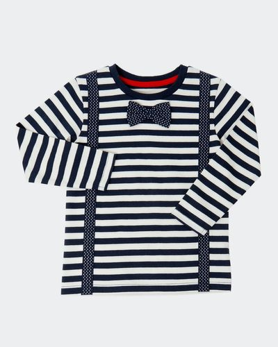 Stripe Bow Tie T-Shirt (0 months-4 years)