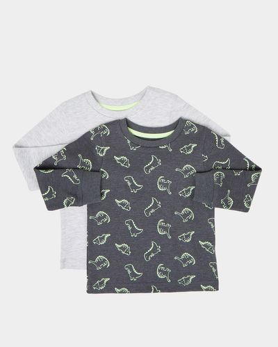 Waffle Long Sleeve Top - Pack Of 2 (6 months-4 years)
