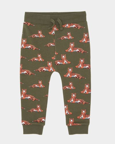 Printed Table Line Joggers (6 months-4 years)