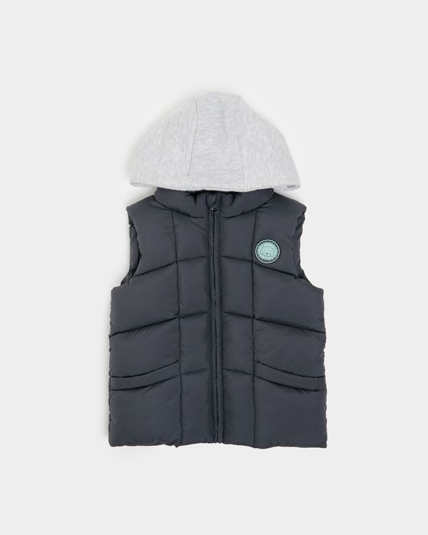 Hooded Gilet (6 months-4 years)