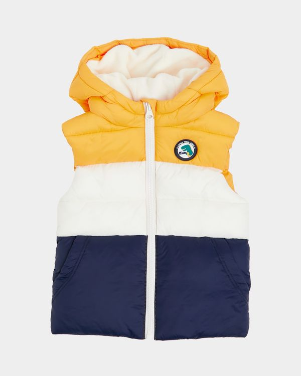 Colour Block Gilet (6 months - 4 years)