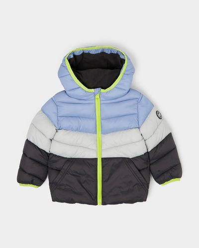 Colour Block Jacket (6 months-4 years)
