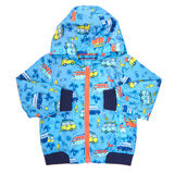blue Toddler Van All-Over Jacket