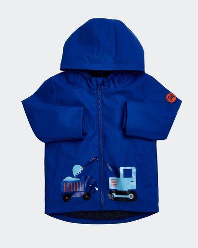 Blue Print Rain Jacket (6 months - 4 years) thumbnail