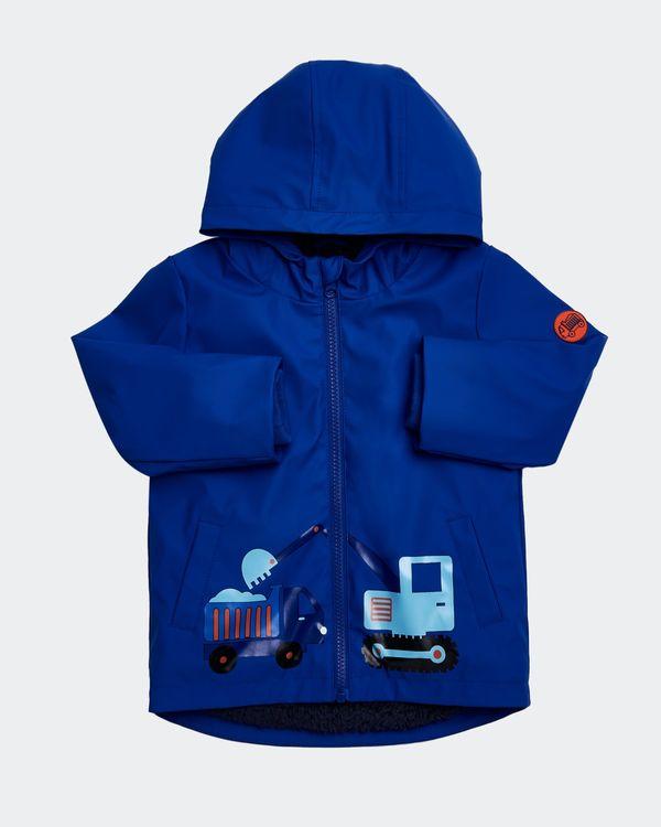 Blue Print Rain Jacket (6 months - 4 years)