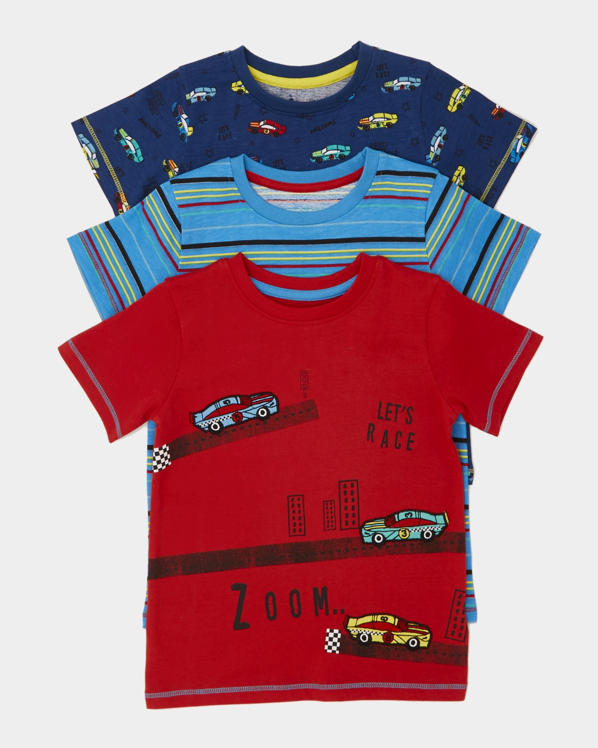 Applique T-Shirt - Pack Of 3 (6 months-4 years)
