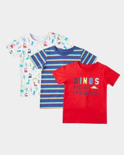 Print T-Shirts - Pack Of 3 (6 months-4 years)