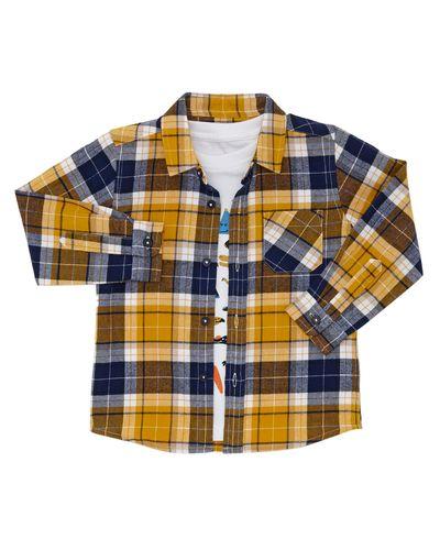 Check Shirt Set