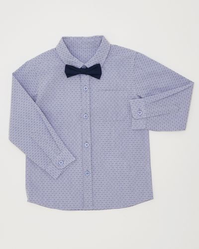 Boys Shirt With Dickie Bow (6 months-4 years)