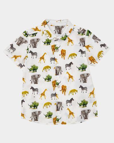 Safari All-Over Print Shirt (9 months-4 years)