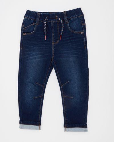 Knitted Denim Slim Leg Jeans (6 months-4 years)