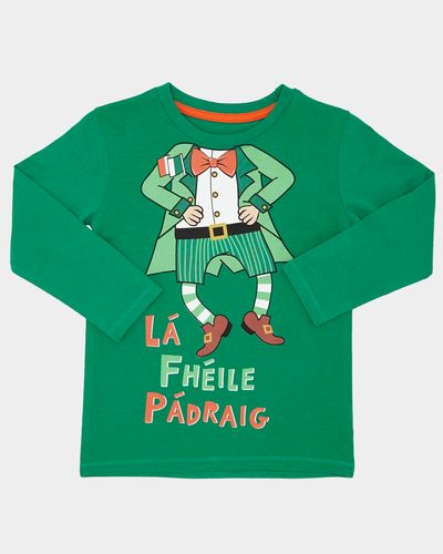 Paddy's Day Leprechaun Top (6 months-4 years)
