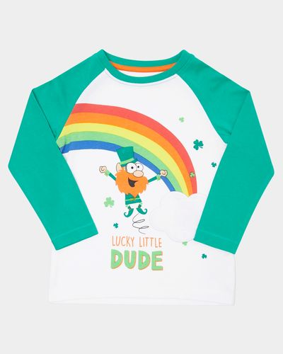 Paddy's Day Raglan Sleeve Top (6 months-4 years)