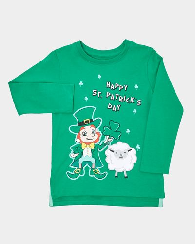 Paddy's Day Applique Sheep Top (6 months-4 years)