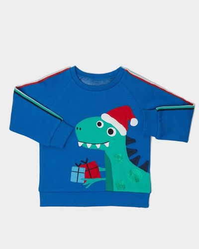 Dino Christmas Crew-Neck (6 months - 4 years)
