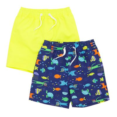 Swim Shorts - Pack Of 2 (9 months-4 years)