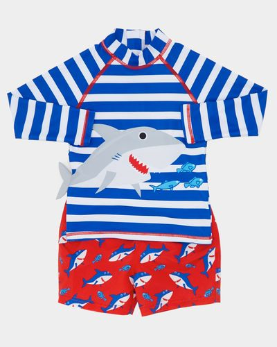 Shark Rashguard Set (3 months-4 years)