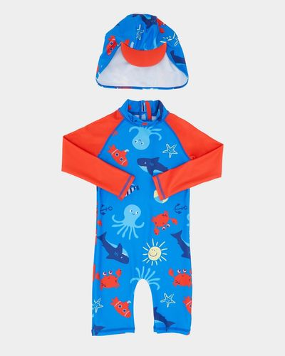 All-Over Print Unitard Set (6 months-6 years)
