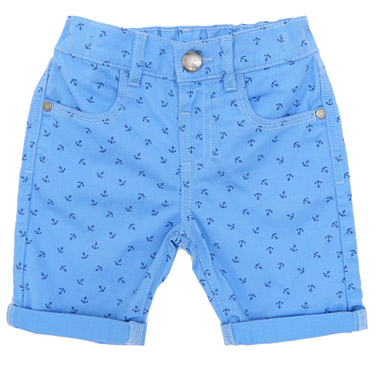 blue Toddler Blue Twill Shorts