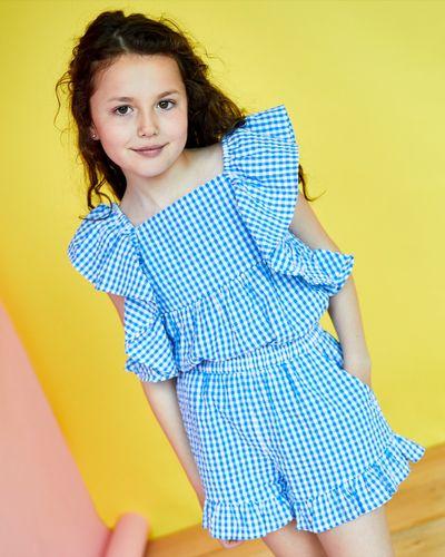 Leigh Tucker Willow Doris Gingham Top (2-12 years)