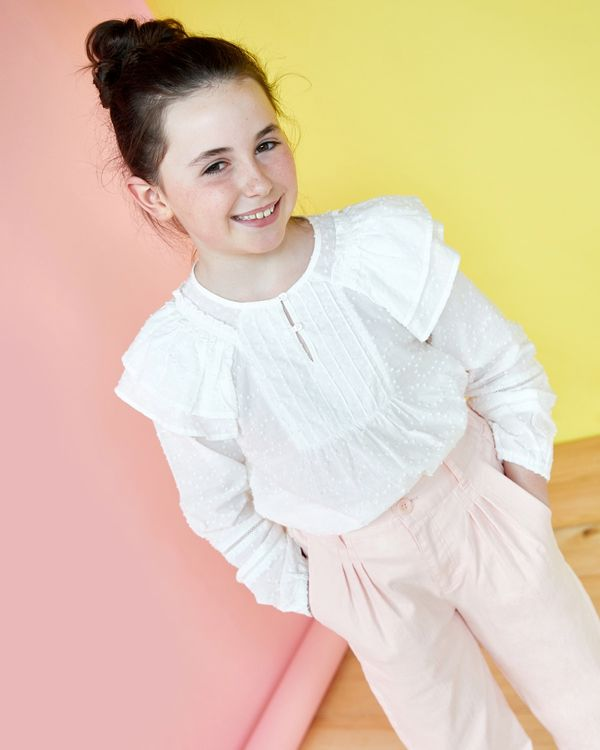 Leigh Tucker Willow Claudia Top (2-14 years)