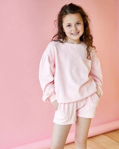 Leigh Tucker Willow Sid Towelling Sweatshirt (3-13 years)