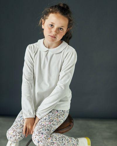 Leigh Tucker Willow Peter Pan Collar Top (2-14 years)