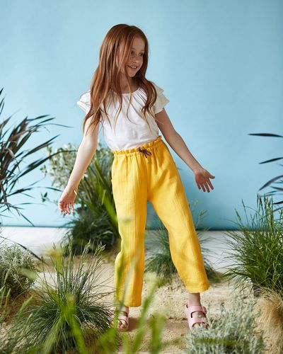 Leigh Tucker Willow Hedridge Textured Trousers thumbnail