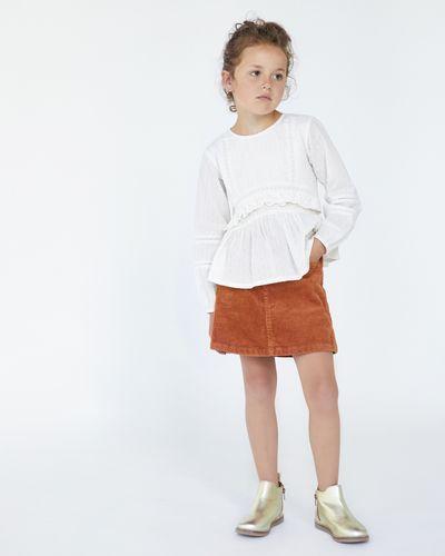 Leigh Tucker Willow Sally Cord Skirt