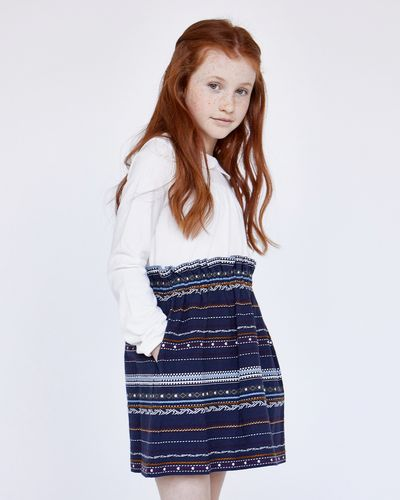 Leigh Tucker Willow Jena Embroidered Skirt