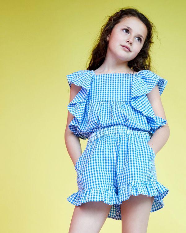 Leigh Tucker Willow Doris Gingham Short (2-13 years)