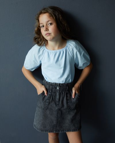 Leigh Tucker Willow Mia Denim Skirt