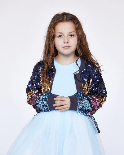 Leigh Tucker Willow Jo Sequin Bomber Jacket