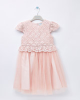pale-pink Leigh Tucker Willow Paris Tulle Dress