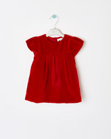 red Leigh Tucker Willow Millie Baby Dress