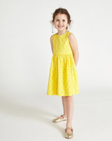 yellow Leigh Tucker Willow Ellie Dress