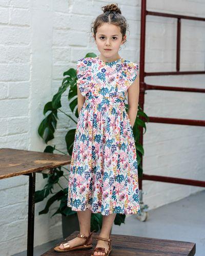 Leigh Tucker Willow Bryn Back Wrap Dress