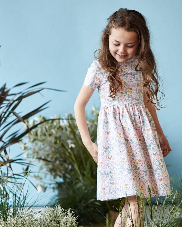 Leigh Tucker Willow Harbin All-Over Print Dress