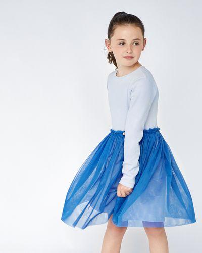 Leigh Tucker Willow Sulla Rib Mesh Dress