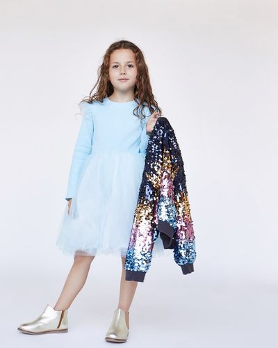 Leigh Tucker Willow Jasemine Mesh Dress