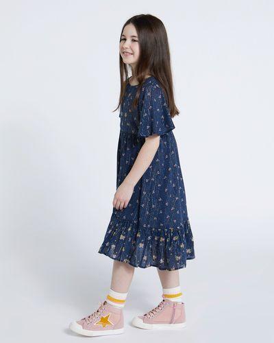 Leigh Tucker Willow Edith Patchwork Print Dress