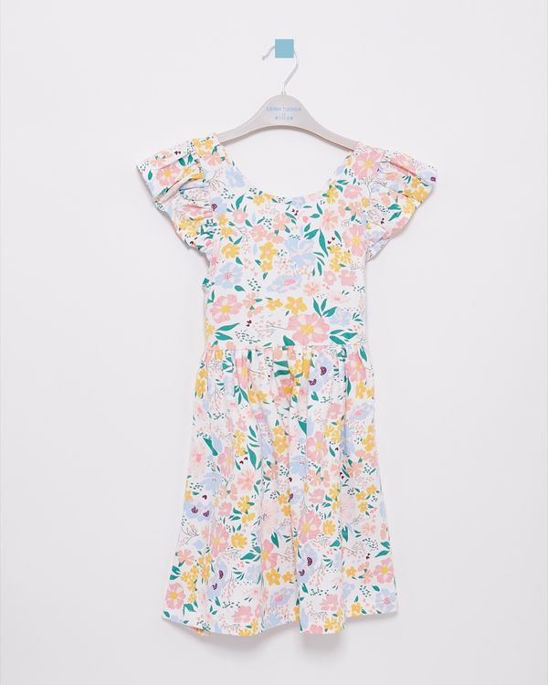 Leigh Tucker Willow Boo All-Over Print Dress