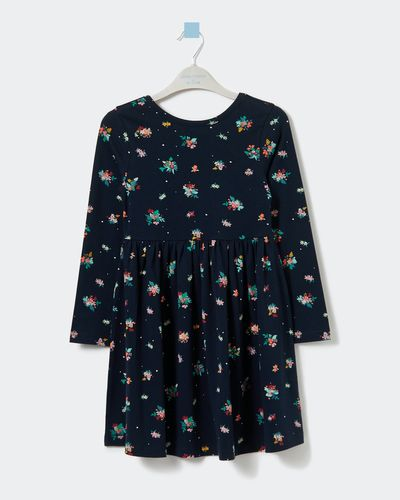 Leigh Tucker Willow Daria Navy Dress