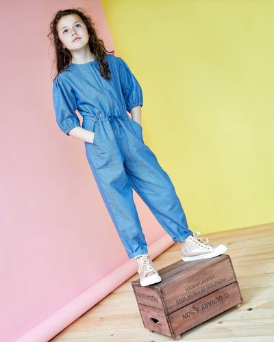 Leigh Tucker Willow Carrie Jumpsuit (3-14 years) thumbnail