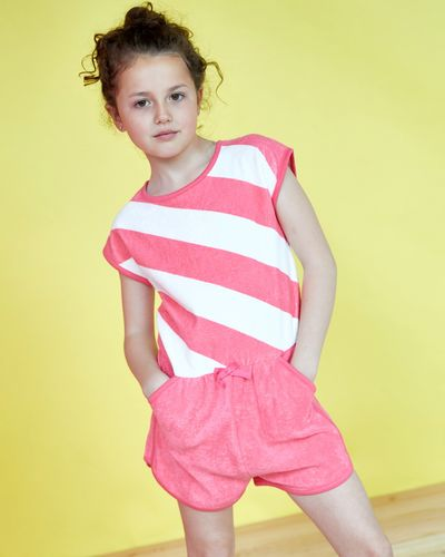 Leigh Tucker Willow Bleu Towel Playsuit (2-13 years)