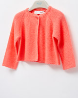 pink Leigh Tucker Willow Carrie Cardigan
