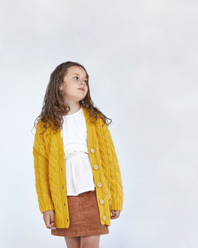 Amber Cable Knit Cardigan
