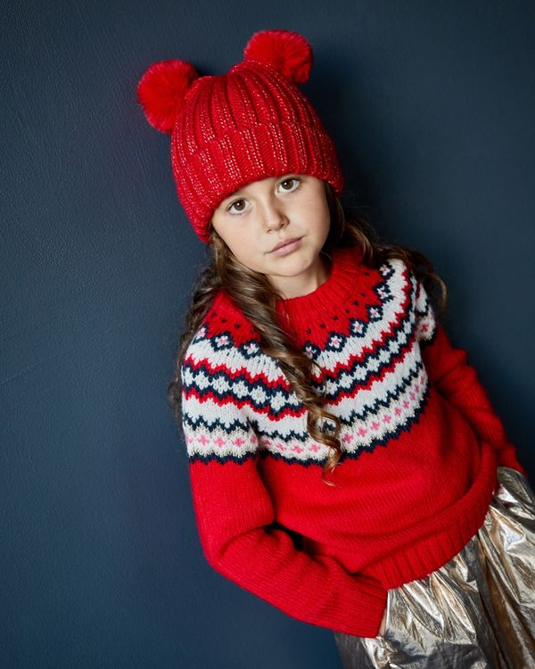 Leigh Tucker Willow Alice Jumper Red