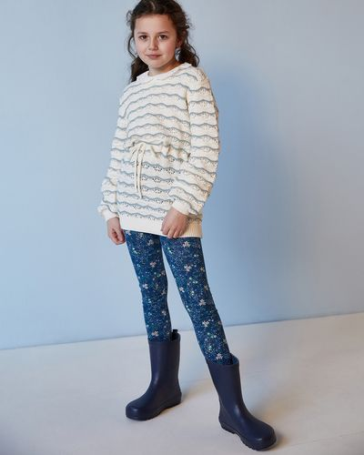 Leigh Tucker Willow Coco Pointelle Jumper