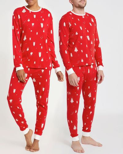 Leigh Tucker Willow Nollaig Shona Pure Cotton Adult Family Pyjamas